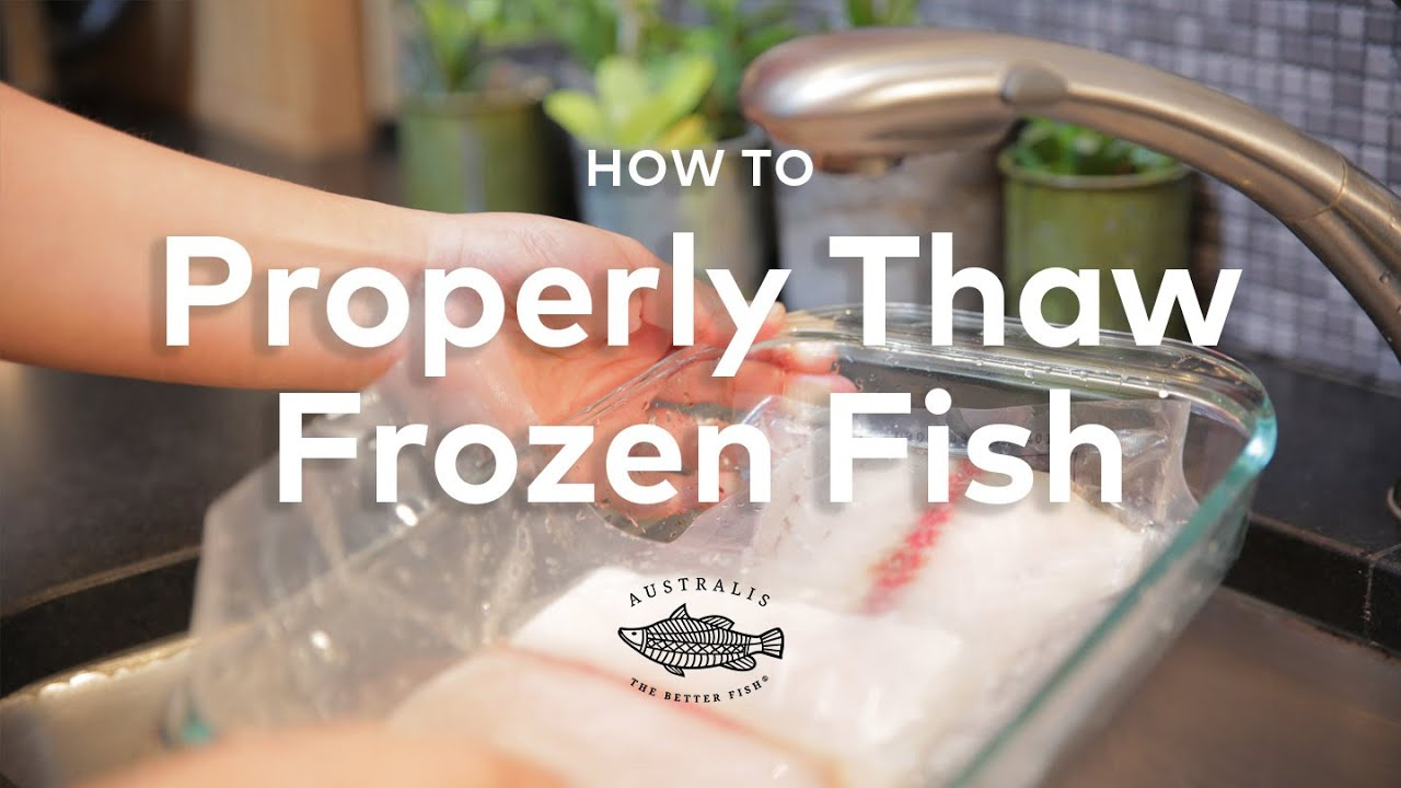 How quickly to defrost the fish