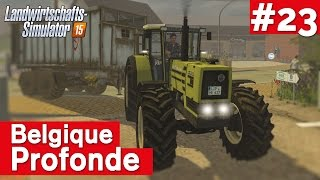 LANDWIRTSCHAFTS-SIMULATOR 15 #23: Neblige Angelegenheit! Belgique Profonde