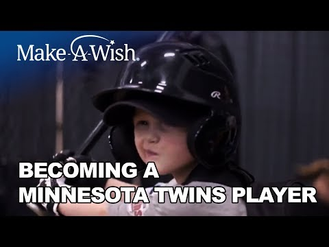 Max's Wish to be a Minnesota Twins player | Make-A-Wish® Minnesota