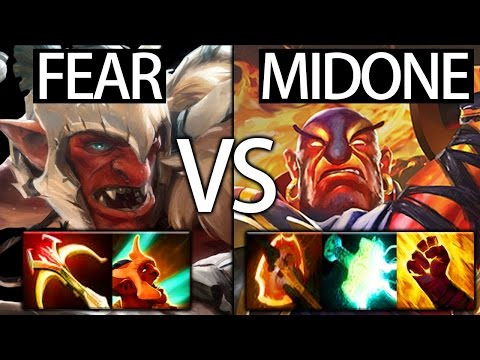 Full Slot Troll warlord by Fear vs MidOne Ember Spirit Top MMR EU Crazy Game - 동영상