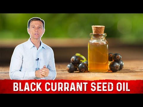 Benefits of Black Currant Seed Oil