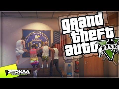 "GTA V Online Funny Moments | ""INTO THE IAA BUILDING"" | E028 (GTA 5)"