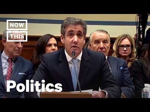 Michael Cohen Reveals All About Trump — FULL Testimony | NowThis