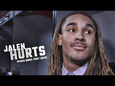Hear what Jalen Hurts had to say about Alabama