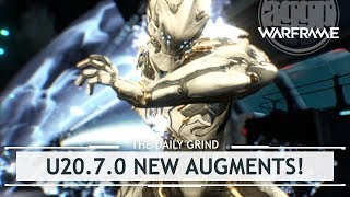 Warframe: New Excalibur, Chroma, Mag & Volt Augments - Update 20.7.0 [thedailygrind]