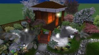 Дизайн-проектнебольшого участка9 соток(Заказать дизайн-проект своего участка + 3D визуализацию по цене обычного проекта вы можете позвонив по теле..., 2012-02-13T19:38:30.000Z)