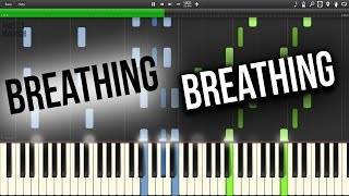 Magnificence & Kerano feat. Charles - Breathing (Piano Cover)