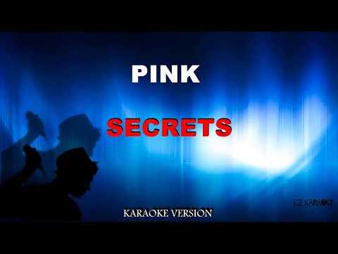 PINK - SECRET (karaoke Version) + Lyric