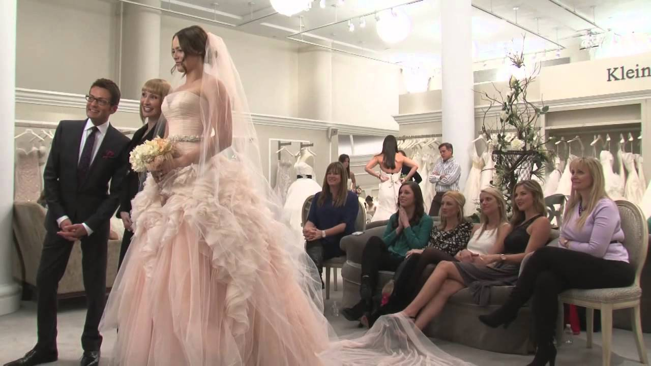 Kleinfeld bridal video youtube for Wedding dress boutiques in nyc