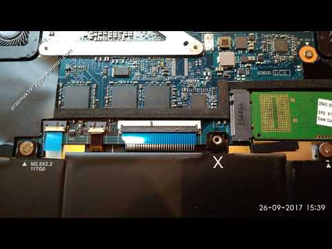 HP Envy 13 - d011 disassembly lcd screen motherboard replacement, cooler fan clean, jak rozłożyć