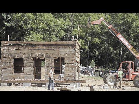 Barnwood builders the historic civil war cabin youtube for Barnwood builders