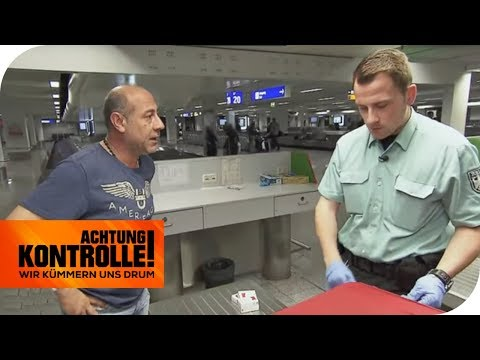 Schmuggelware am Flughafen? Zigaretten aus dem Libanon | Achtung Kontrolle | kabel eins