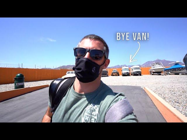 Leaving the Van in Baja Mexico - Van Life Ep 45