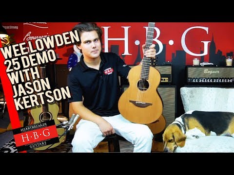 Wee Lowden 25 Demo With Jason Kertson