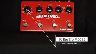 TC Electronic - Hall Of Fame 2 X4 - Demo