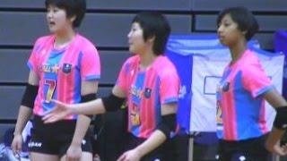 春高バレー女子オールスターマッチ【1】宮部愛梨・石川真佑 Volleyball Girls Japan