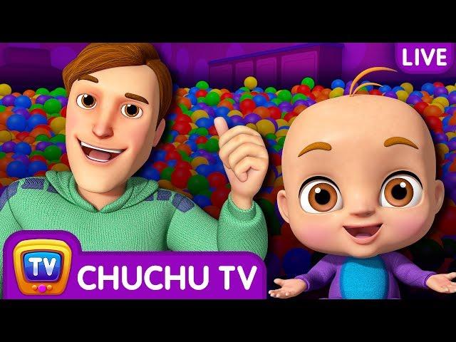 ChuChu TV Funzone 3D Nursery Rhymes & Songs For Babies - Live Stream