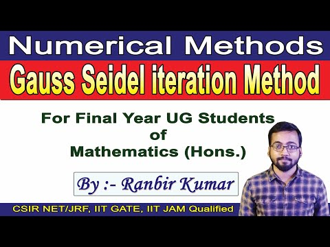 Iterative methods Jacobi and Gauss-Seidel from YouTube · Duration:  6 minutes 53 seconds