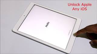 How To iCloud Unlock an iPAD/iPhone Any iOS WithOut DNS & APPLE ID ✔
