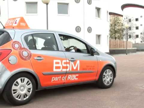 Driving lessons - Car basics inside - BSM