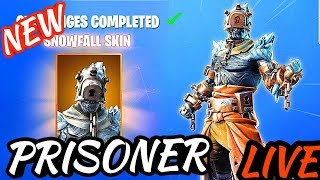 - NOUVEAU - SNOWFALL CHALLENGES SKIN - Grind to 2K SUBS !! | Fortnite Bataille Royale
