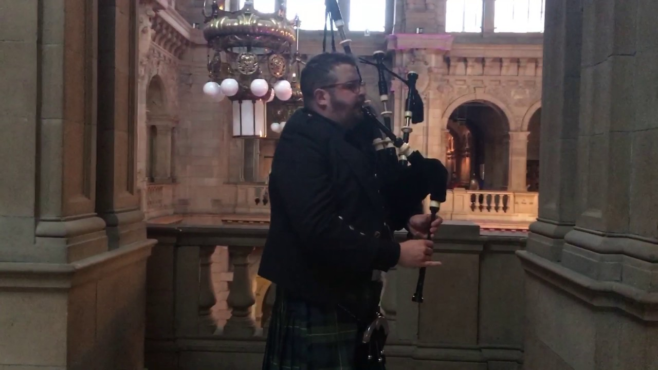 Bagpipes at Kelvingrove