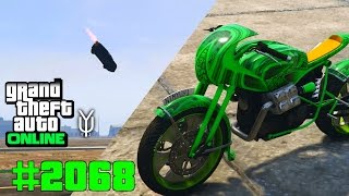 GTA 5 ONLINE Neues Motorrad & Wer kommt weiter mit Raketenautos #2068 Let`s Play GTA V Online PS4 2K