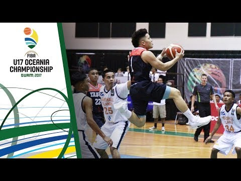 Marshall Islands v Guam - Full Game - FIBA U17 Oceania Championship 2017