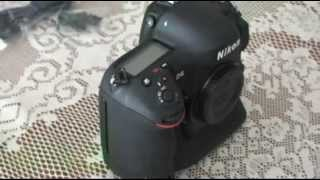 Nikon D4, The Unboxing (from Montreal Quebec, Canada)