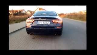 Maserati Quattroporte SQ4 Sound