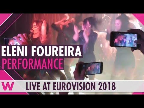 "Eleni Foureira ""Fuego"" @ Trumps Club Lisboa | wiwibloggs"