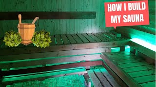 How i build my Sauna,Pirtis,Banya,баня,DIY