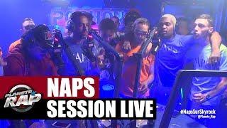 Grosse session live dans le #PlanèteRap de Naps