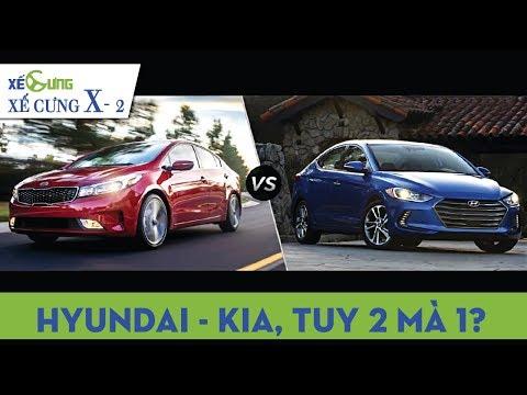 """[Xế Cưng-X 2] Hyundai và Kia có phải """"2 thể xác chung 1 linh hồn""""?"""