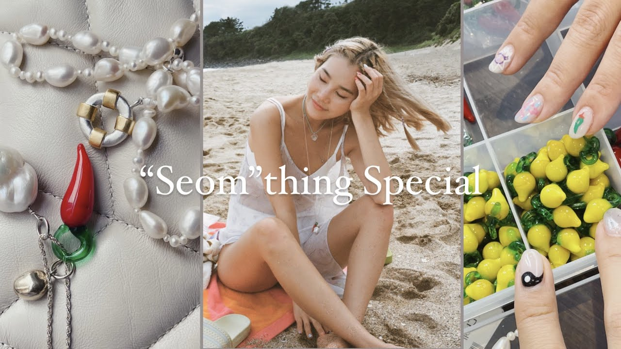 """🐚 SUMMER NECKLACES: """"Seom""""thing Special for You🍋"""