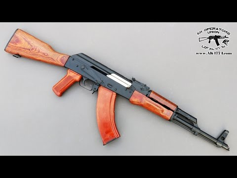 "Polish AK 47 from Atlantic Firearms - Look under the ""hood"""