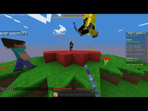 Hypixel Party Games l HACKER CAUGHT ON CAMERA!