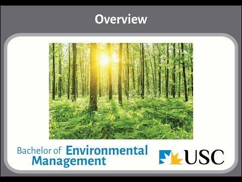 USC Bachelor of Environmental Management: Overview