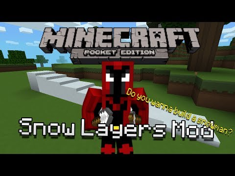 how to make snow layers in minecraft