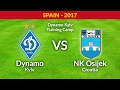 LIVE! Dynamo Kyiv - NK Osijek (Croatia). Friendly match