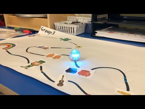 Integrating Ozobots in a 1st Grade ELA Lesson - Coding in the Classroom