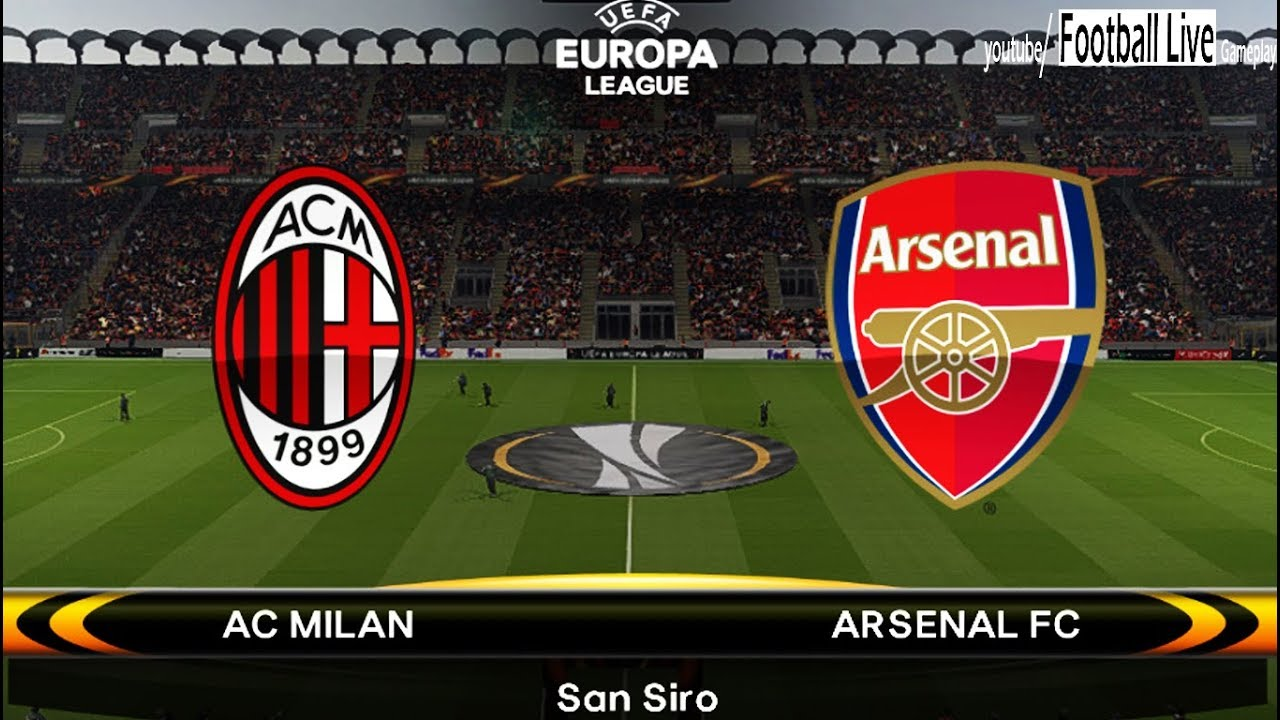 Image result for AC Milan vs Arsenal live pic