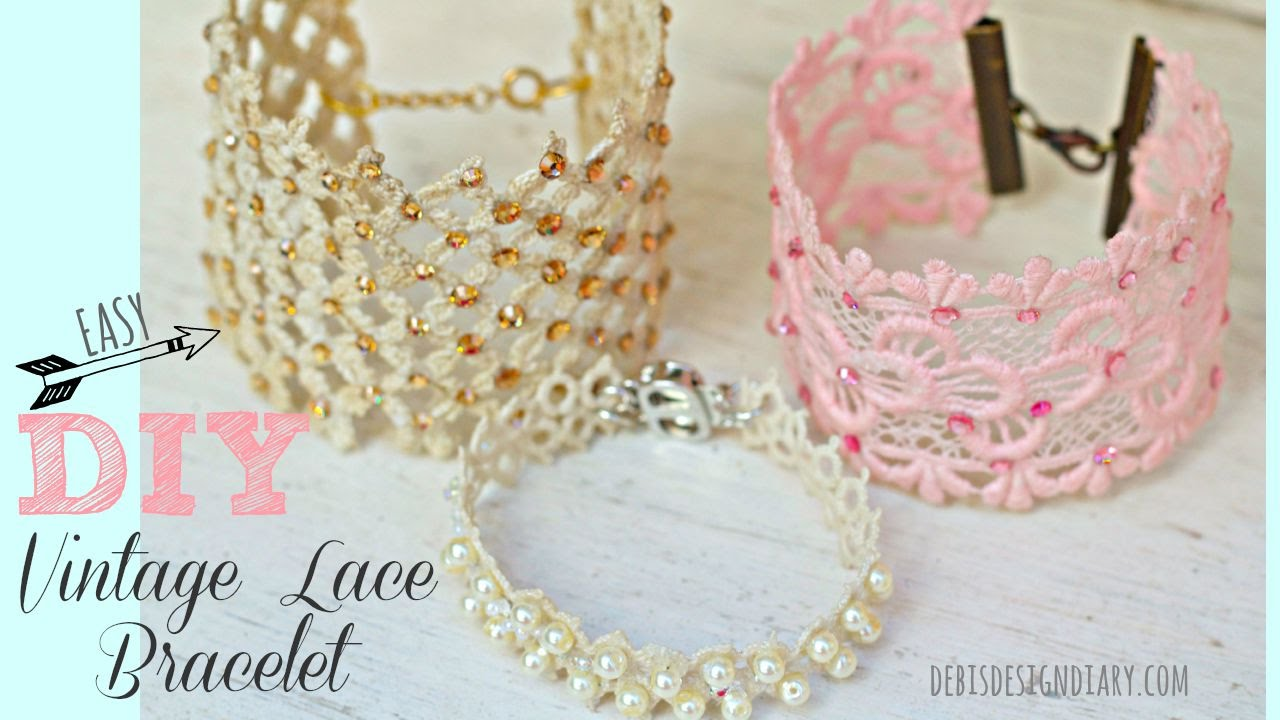 Jewelry I Literally Diy Diy Lace Jewelry Youtube