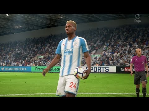 FIFA 18 Huddersfield Town AFC vs Newcastle United (KIRKLEES STADIUM) Premier League