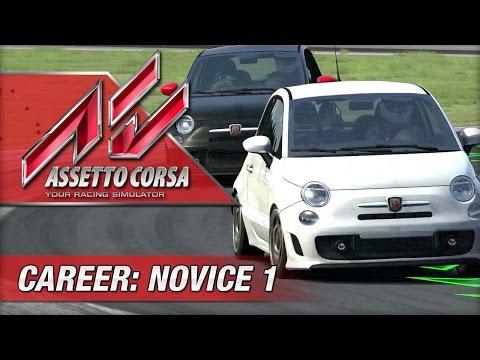 Assetto Corsa Career Mode - 01 - Novice Driver