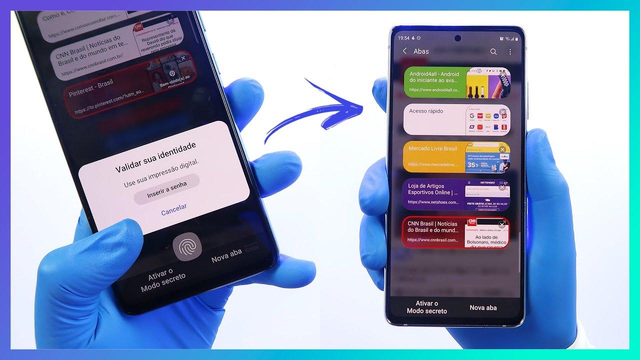 🔵 CHEGOU! Samsung Internet Browser BETA | Novidades e Dicas