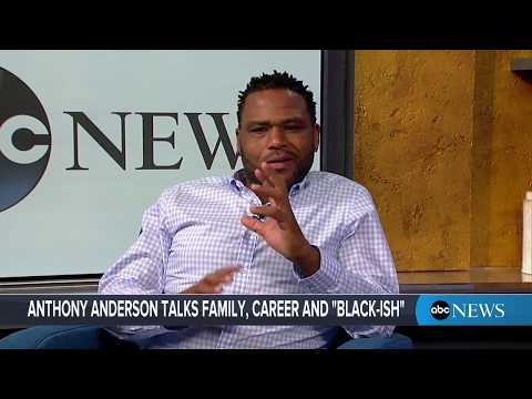 'Blacki-sh' star Anthony Anderson interview on his hit show, Charmin Van-GO
