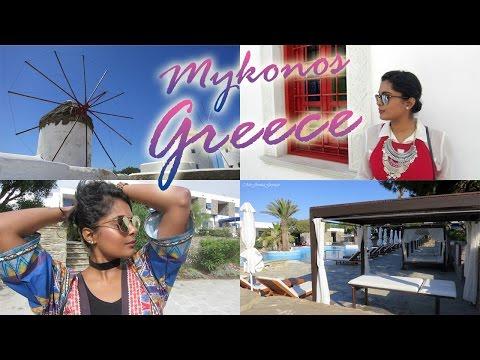 Greece Summer Travel Vlog - Follow Me Around In Mykonos / Exploring Mykonos Town or Chora