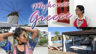 Greece Summer Travel Vlog – Follow Me Around In Mykonos / Exploring Mykonos Town or Chora