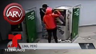 Tras una red de ladrones que roban cajeros electrónicos | Al Rojo Vivo | Telemundo